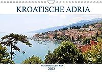 Kroatische Adria - Von Opatija bis Krk (Wandkalender 2022 DIN A4 quer): Erleben Sie nostalgischen Glanz und ein subtropisches Naturparadies! (Monatskalender, 14 Seiten )
