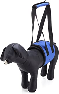 LXLP Dog Lift Harness Support Sling Helps Dogs with Weak Front or Rear Legs Stand Up, Walk, Get Into Cars, Climb Stairs. Best Alternative to Dog Wheelchair