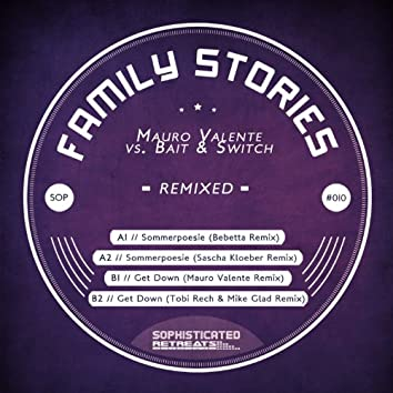 SOP Artists - Family Stories Remix EP