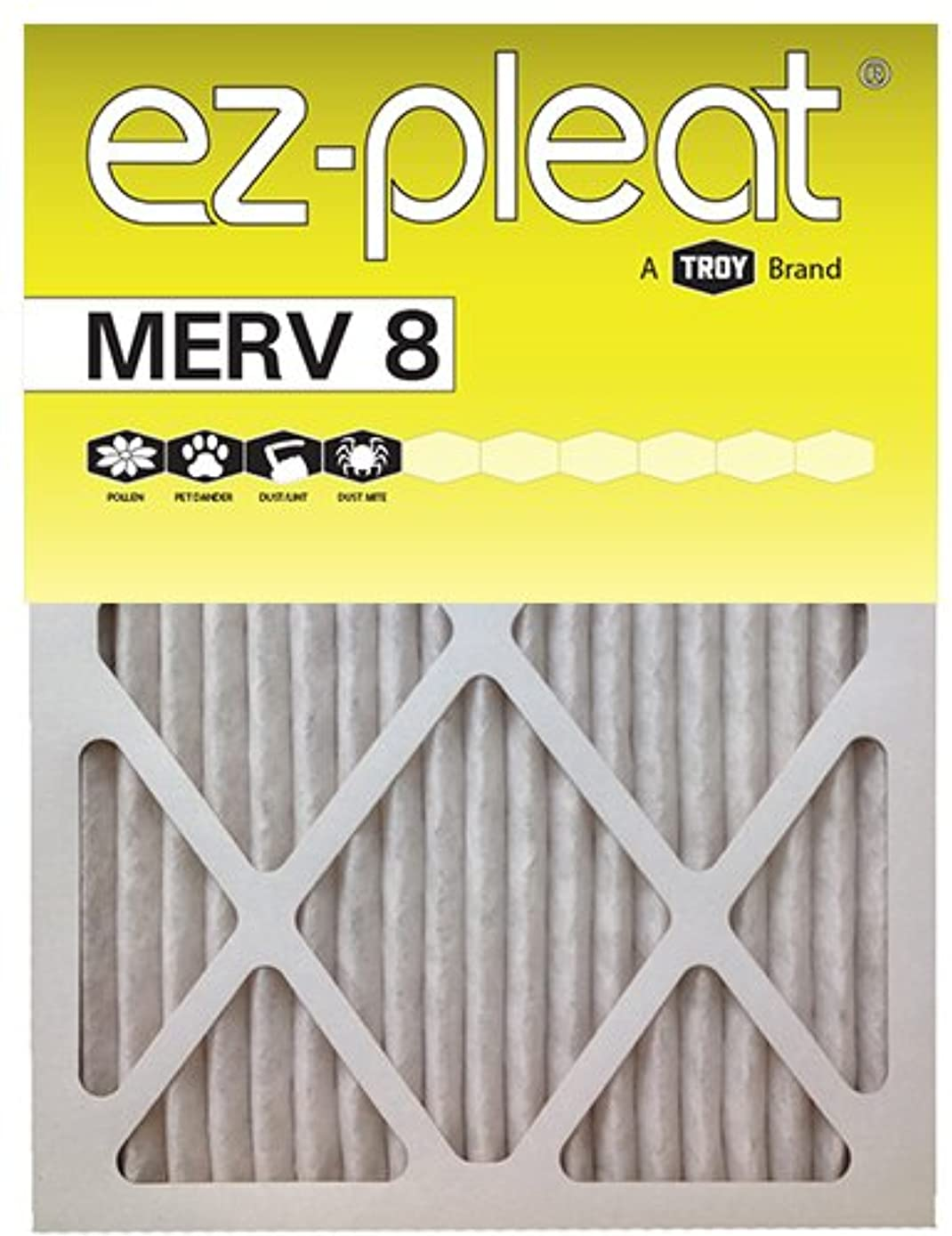 14x25x1 EZ-Pleat MERV 8 Air Filters (6-Pack)