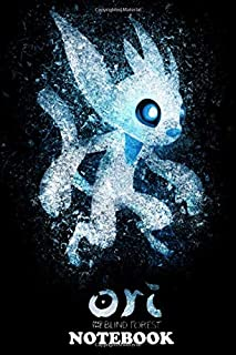 """Notebook: Ori From Ori And The Blind Forest Video Game , Journal for Writing, College Ruled Size 6"""" x 9"""", 110 Pages"""