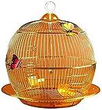 HLZY Jaula de pájaros de Parrot de Vuelo Grande para De Jaula de Vuelo Creativo Metal pájaro Loro Perla pájaro Canario Ornamental pájaros pájaros pájaros Hundido
