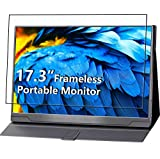 Portable Monitor - Upgraded 17.3 Inch 1080P FHD IPS HDR 100% sRGB FreeSync USB-C Gaming Monitor with Type-C Mini HDMI for Xbox PS4 Nintendo Switch Laptop PC Phone Mac Surface, with case VESA Mount