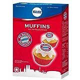 Backmischung mit Zubehör MUFFINS- FC BAYERN MÜNCHEN EDITION (12 Muffins / 340 g - Vanillegeschmack) KOMPLETT - SET
