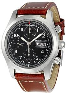 Hamilton Men's H71556537 Khaki Field Black Dial Watch