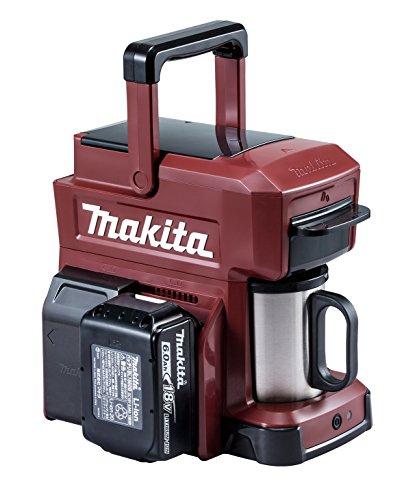 マキタ 充電式コーヒーメーカー バッテリ充電器別売 オーセンティックレッド CM501DZAR