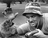 Bill Murray in Caddyshack on golf course facing the gopher! 8x10 Promotional Photograph