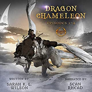Dragon Chameleon: Episodes 1-4 audiobook cover art