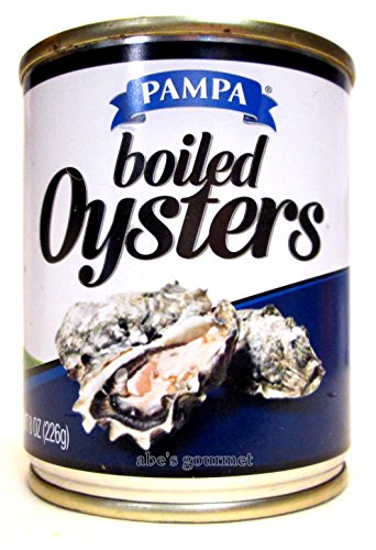 Pampa Boiled Oysters (3 Pack) 8 oz Cans