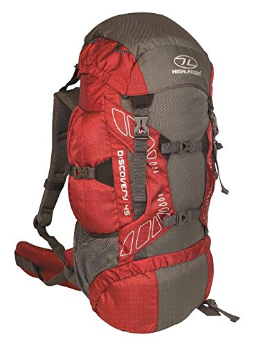 Highlander Sac à dos Discovery ruc180-rd 45L Rouge...