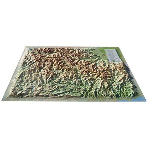 3DMAP kaart van Mercandour