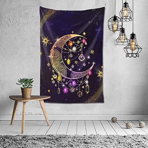 Asfg Pinterest Galaxy D3zh Tapiz para colgar en la pared, 150 x 100 cm, cortina para colgar en la pared, dormitorio, sala de estar, cocina, decoración del hogar