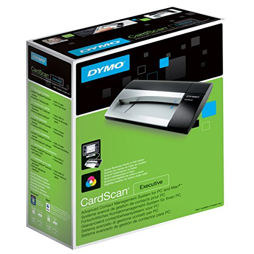 Check Out This DYMO CardScan v9 Executive Business Card Scanner and Contact Management System for PC...