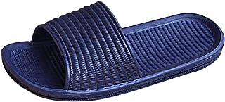 DELFINO Ultra-Soft Quick-Drying, Anti-Slip Slippers Unisex Couples Skid-Proof Home Slippers Beach Sandal, Non Slip Waterpr...
