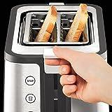 Krups KH442D10 Control Line Premium Toaster mit 6 Bräunungsstufen (720 Watt) edelstahl/schwarz - 6