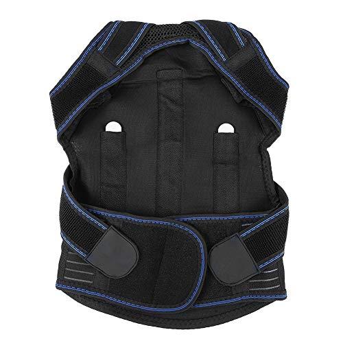 Ruiqas Schulterstütze Erwachsenes Kind Schulter Rückenstütze Haltungskorrektor Kyphose Lumbaler Stützgürtel XL