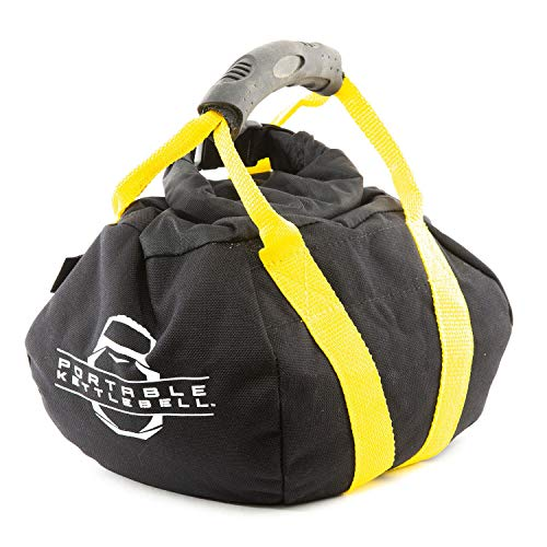 PKB PORTABLE KETTLEBELLS 0-15 lbs: The Original Sandbag Kettlebell - Crossfit, Travel, Yoga, Home...