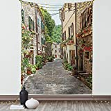Measurements - 30 inches wide x 45 inches long. Wall hanging art, wall decor, gift idea, poster. Made from - High quality 100% microfiber, lightweight, super soft fabric. Unique. Versatile. Fun. Features - Vivid colors & clear image. Includes 1.5-inc...