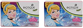 Pack of 2 - Biotique Cindrella Disney Princess Almond Nourishing Soap for Kids - 75g
