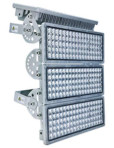 Rugging 400W LED Strahler Flutlicht LED Flutlicht LED Licht Flutlicht LED Außen LED Stadion Licht LED 400W LED Fluter 400W LED-Flutlicht 6500K Für Docks Baustellen Stadien Rasenflächen