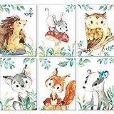 LALELU-Prints | A4 Bilder Kinderzimmer Deko Mädchen Junge