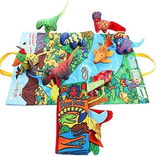 Spielzeug Quiet Bücher, können Sie von den Sinnen Lernen, 3D-Design-Bücher for Eltern-Kind-Kommunikation, Bücher for Busy Cloth Aktivitäten und Weihnachten for Kinder (Color : B)