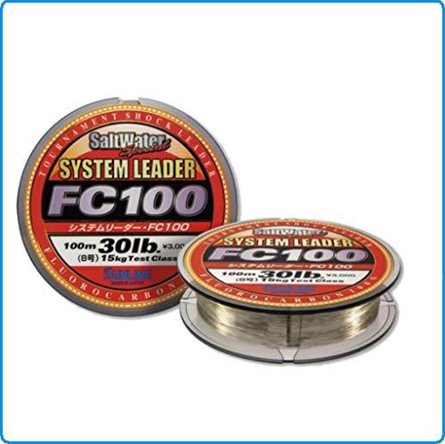 Fluorocarbon System Leader FC 100Sunline 30mt 0.70Belastung 55lb