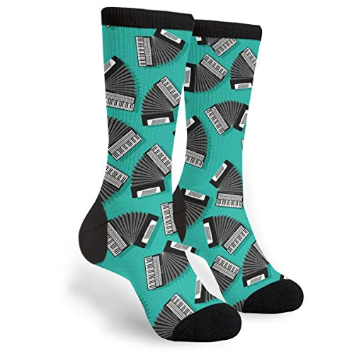 Accordion Instrument Novelty Socks