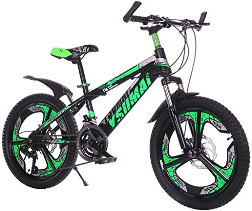 MYERZI Absorción de Impacto Niños al aire libre Estudiante Estudiante Bicicleta Deportes for niños Bici de montaña Bicicletas y niñas Viajes Bicicletas Bicicleta de carreras Bicicleta de 20 pulgadas (
