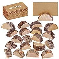 🟤 Quantité: Chaque paquet contient un porte-cartes en bois rustique 20PCS et du papier en bois 20PCS.Veuillez rechercher des supports X-BLTU . Nous ne sommes pas responsables des problèmes de qualité résultant de l'achat d'autres marques. 🟤 Matériau:...