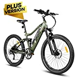 eAhora AM100 Plus 27.5 Inch 48V Mountain Electric Bicycle Dual Hydraulic Brakes Electric Bikes for...