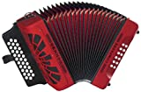 Hohner Compadre GCF Accordion, Red