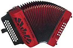 in budget affordable Hohner Compadre GCF Accordion, Red