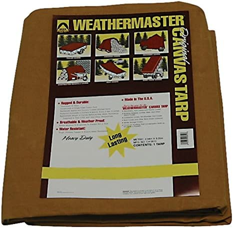 Limited time sale Dize Heavy-Duty 10-Oz. Treated Cotton Duck New life x 10ft. Canvas - Tarp