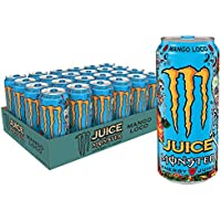 24-Pack Monster Juice Energy Mango Loco, 16 Ounce