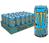 Monster Energy Juice Monster Mango Loco, Energy + Juice, Energy Drink, 16 Ounce (Pack of 24)