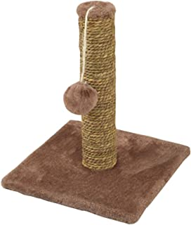 Cat Scratching Post with Sisal Rope Activity Centre with Extra Post Dangling Toy for Kitten