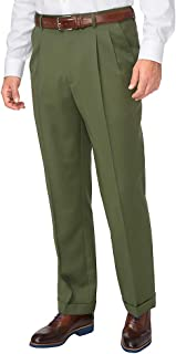 Men's Washable Wool Pleated Pant