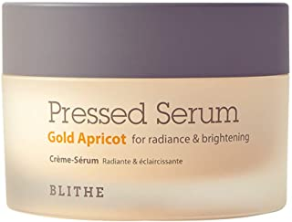 Blithe Pressed Serum Gold Apricot for Radiance & Brightening, 50 Milliliter