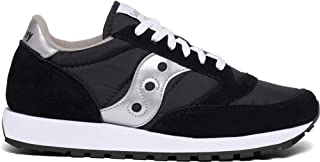 Men's Jazz Sneaker,Black/Silver,13 M