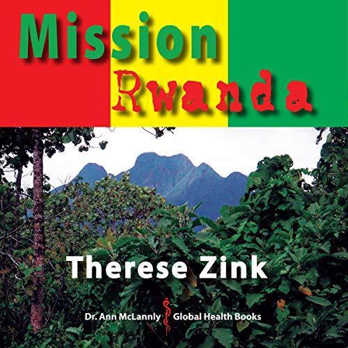Mission Rwanda  audiobook cover art