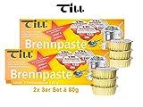 TILL Safety Paste Set's á 80 g (2x set de 3 80g (6 pièces))