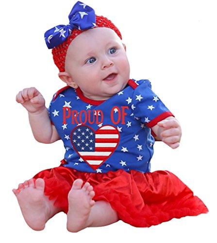 Petitebelle - Body - Bébé (fille) 0 à 24 mois Bleu Royal Blue, Red - Bleu - L