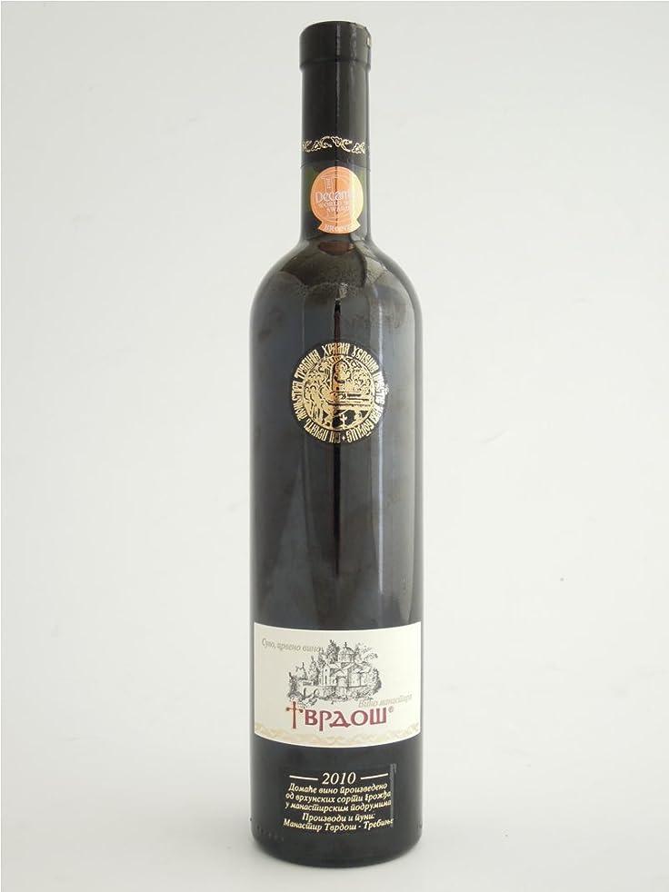 にやにや朝ごはん我慢する【ボスニアヘルツェゴビナワイン】ブラナツ (赤?重口) VRANAC