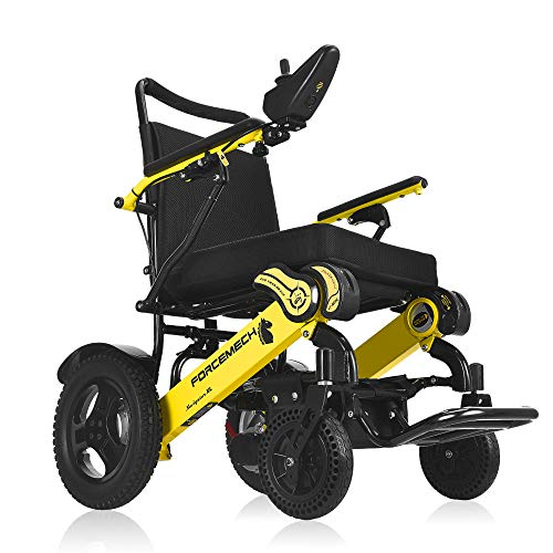 Forcemech Navigator XL – All Terrain Folding Electric Wheelchair – 6th Generation 2021 Model