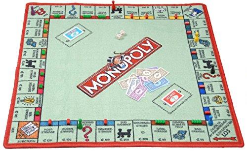 SPIELTEPPICH 'Monopoly' Kinderteppich 92 x 92cm