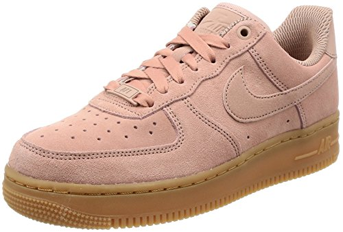 Nike Damen Air Force 1 '07 Se Basketballschuhe, Pink (Particle Pink/Particle Pink), 41 EU