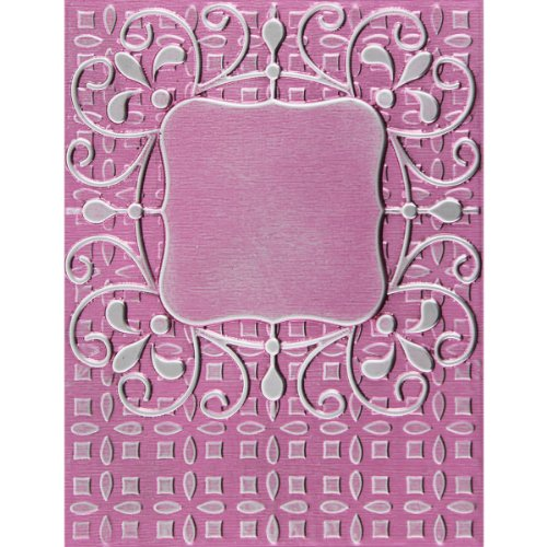 Spellbinders M-Bossabilities 3D Embossing Folder-Ornate Labels 1