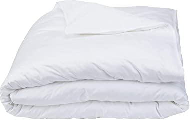 ARlinen Cotton Duvet Cover Western King 120X120 Size, White Solid Comforter Cover Bedding 1 Pieces Duvet Cover Solid Color an