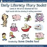 I See, I Spell, I Learn - Phonics, Sight Words, Sew, Storybooks (lecteurs décodables pour tous les lecteurs émergents en K-3 ou Dyslexie) - Niveau A (10 histoires)